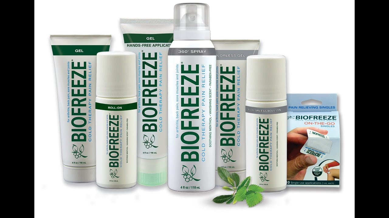 743482424 How to apply Biofreeze - YouTube
