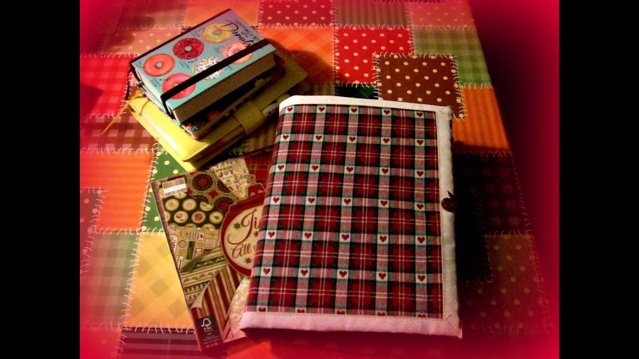Agende fai da te agenda natalizia fatta con tovaglietta for Inferriate fai da te