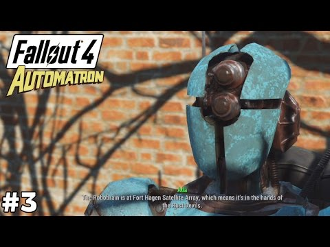 Robobrain and the Rust Devils [Headhunting] - Fallout 4 Automatron [ep3]