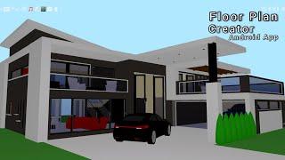 Floor Plan Creator || 2 Floor/2 Storey plan screenshot 1