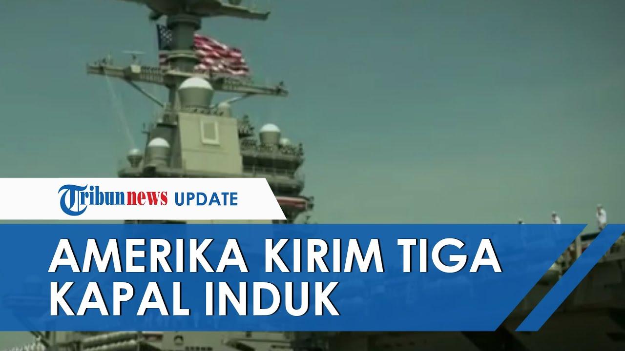 Indonesia Siagakan 4 Kapal Perang Antisipasi Konflik Di Laut China Selatan Tribunnews Com Mobile