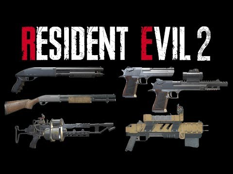 Resident Evil 2 Remake | HD Weapons Review - Part 4
