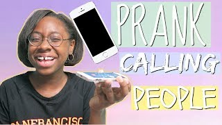 PRANK CALLING PEOPLE