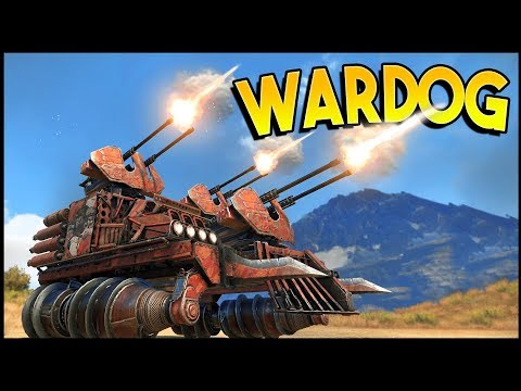 Crossout - WARDOG! Epic Triple Cyclone Bacon Wrapped Build! (Crossout Gameplay)
