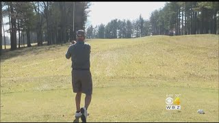 Golfers, Skiers Soak Up Sun In February Warmth