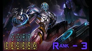 Mobile Legends Gord Legend Skin - Rank 3