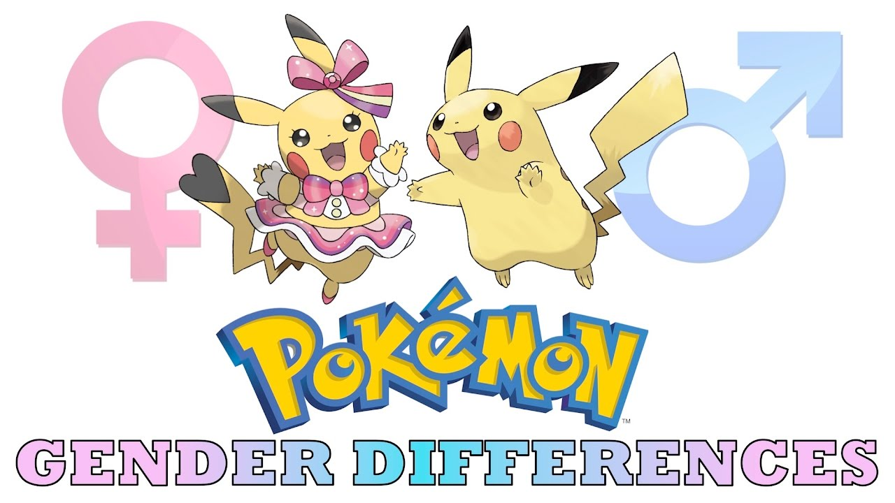 All Pokémon Gender Differences - YouTube