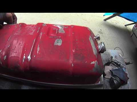 "1986 Chevy K10 Restoration  ""Part 9 "" Gas tanks refurbishing"