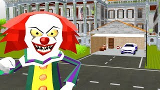 Hello IT Clown Neighbor ~ LEVEL 3 COMPLETE! iOS Game