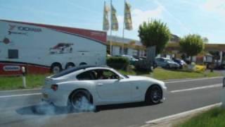 BMW Z4 M Burnout!