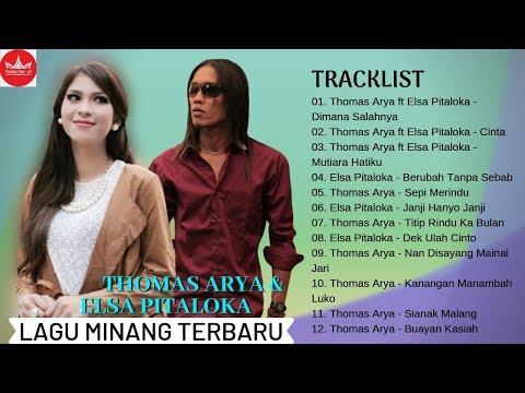 Thomas Arya Feat Elsa Pitaloka Slow Rock FULL ALBUM - Lagu Minang Terbaru 2019 Populer (Video Lirik)