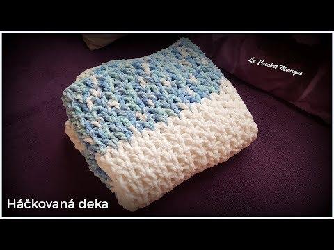 Háčkovaná deka/Easy Crocheted Blanket (english subtitles)