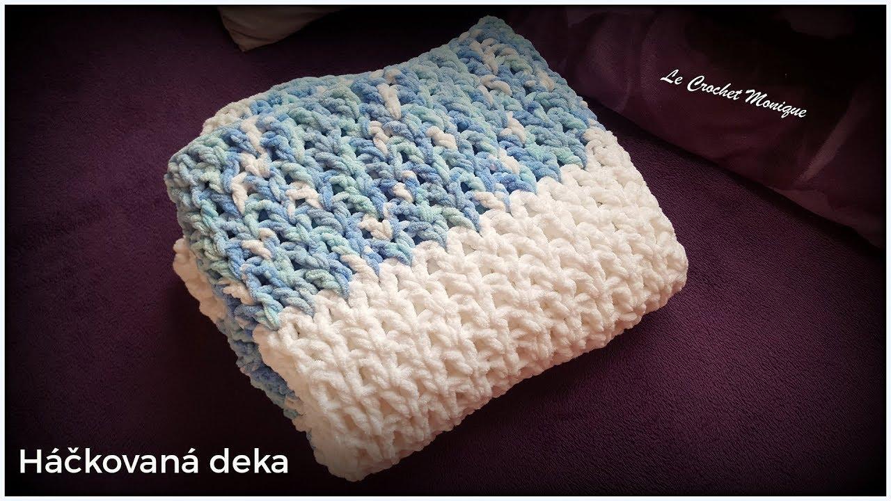 9234774f4 Háčkovaná deka/Easy Crocheted Blanket (english subtitles) - YouTube