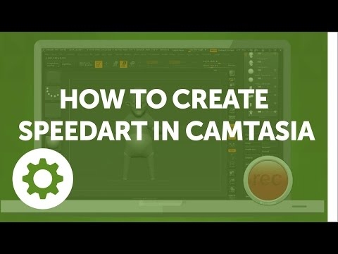 How to Create Speedart in Camtasia