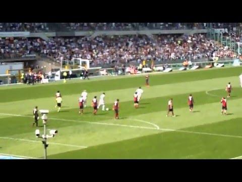 JUVENTUS Vs Genoa Goal Matri 2-2