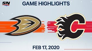 Nhl Highlights | Ducks Vs. Flames – Feb. 17, 2020