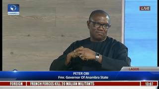Security Vote; Our Source Of Waste-- Peter Obi