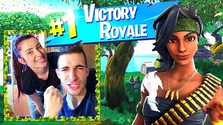 ROYAL VICTORY WITH MY GIRLFRIEND!! - FORTNITE ITA