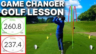 Hit Driver Straight - This CRAZY golf tip was a GAME CHANGER for a recent student