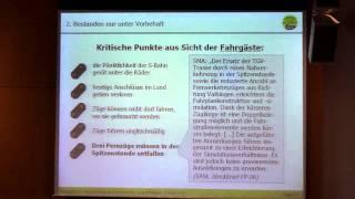 Boris Palmer /2: Die Wahrheit über den Stresstest - ArchitektInnen für K21 - 04.08.2011