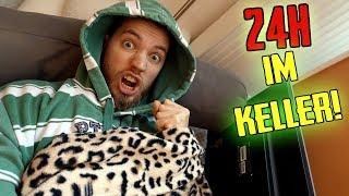 24 STUNDEN EINGESPERRT im KELLER!
