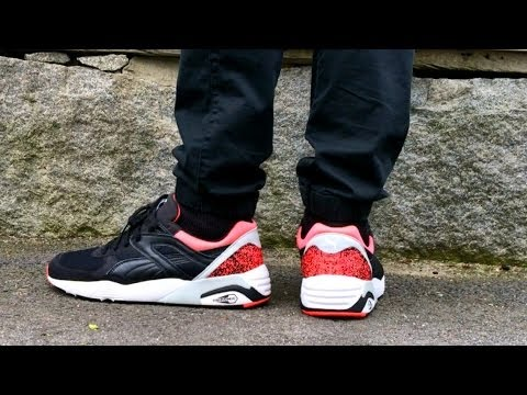 puma trinomic on feet