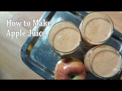 How to make apple juice with milk recipe