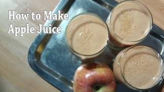 Gambar cover How to make perfect apple juice at home