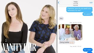 The Bush Twins Show Us Texts from George W. Bush & Family |  Vanity Fair