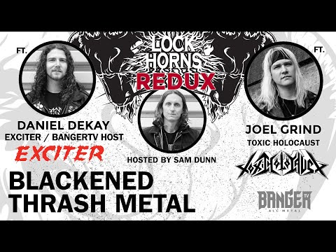 BLACKENED THRASH METAL  | Lock Horns Redux – Episode 12 episode thumbnail
