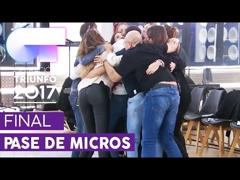 PRIMER PASE DE MICROS PARA LA FINAL (ENTERO) | OT 2017