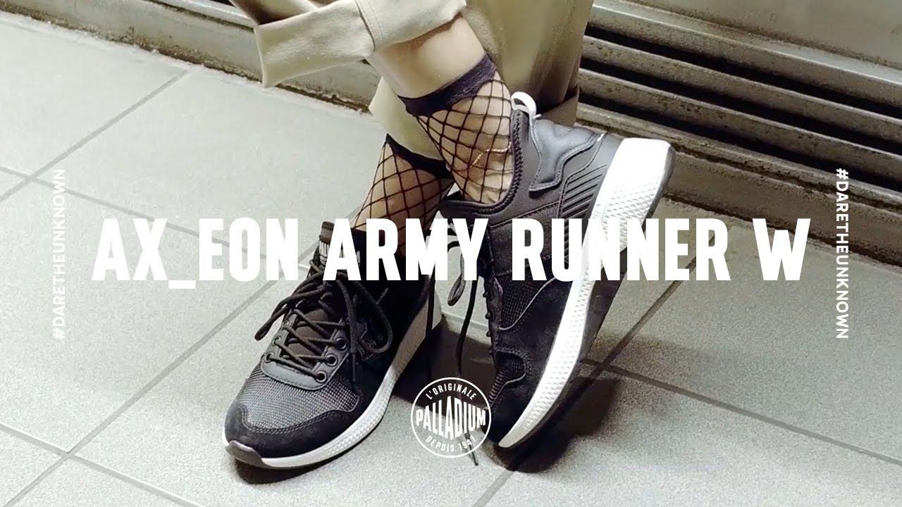 c79731ca6fa AX EON ARMY RUNNER W - YouTube