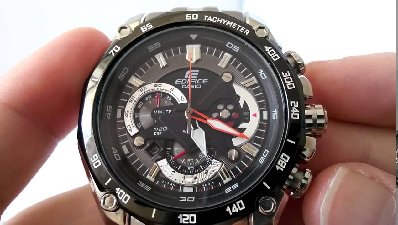 c00728f5e29 Relógio Casio Edifice EF 550D 1AVDF - YouTube