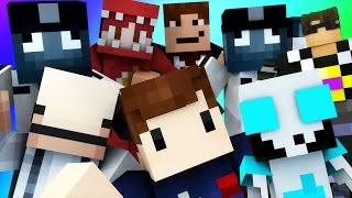 Minecraft Mini-Game: DO NOT LAUGH! (THE TIMVASION!) w/ Facecam