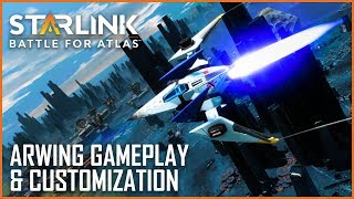 Starlink: Battle for Atlas: Star Fox Gameplay and Arwing Customization Details | News | Ubisoft [NA]