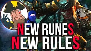 Tobias Fate - GANGPLANK AT ITS PRIDE! NEW RUNES NEW RULES BUD | League of Legends