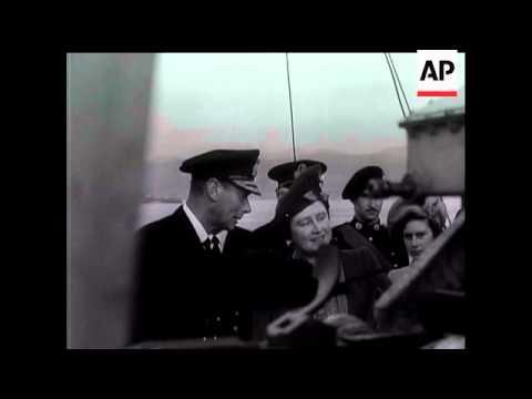 Ships That Went East - B/S King George V & A/C Indefatigable