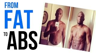 From Fat To Six Pack Abs - Christian Ngono (See Before and After Pics!)