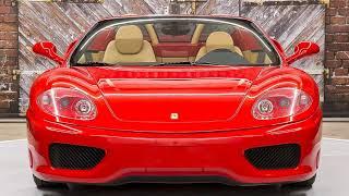 2004 Ferrari 360 F1 Spider - G139623 - Exotic Cars of Houston