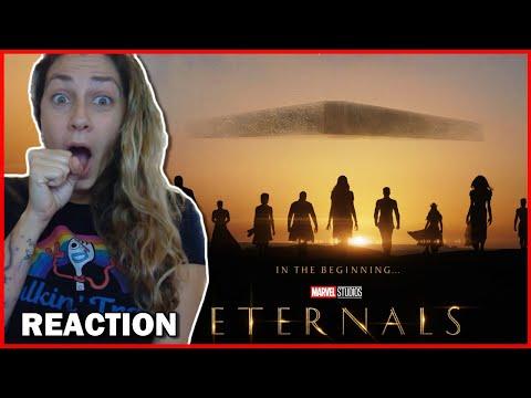 Marvel Studios' Eternals Official Teaser Trailer Reaction