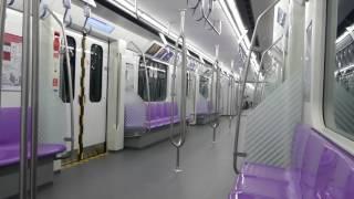 バンコクMRTパープルライン車内 タラートバンヤイ~サムイェークバンヤイ Bangkok MRT Purple Line Train Ride