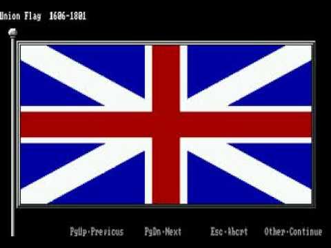 UK Flag History