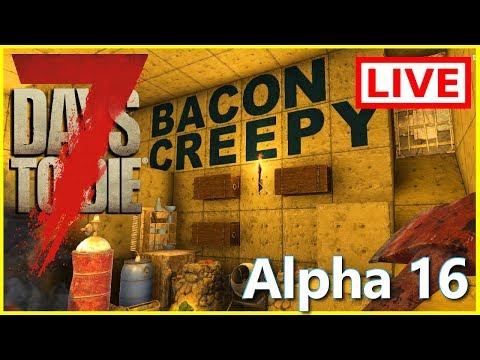 7 Days To Die - MOVING UNDERGROUND! - Day 92 Alpha 16