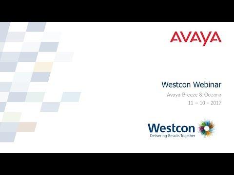 Westcon Avaya Breeze & Oceana Overview (UK)