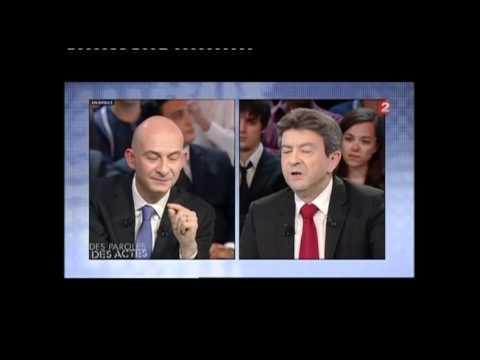 Jean Luc Mélenchon mange tout cru François Lenglet 12 avril 2012