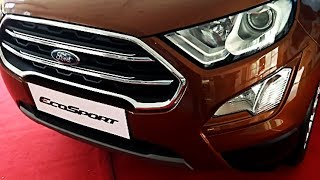 Ford EcoSport Facelift Complete Review including Petrol and Diesel Engine, features, mileage, price