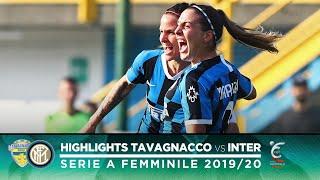 TAVAGNACCO 0-2 INTER | INTER WOMEN HIGHLIGHTS | Two stunning goals from Tarenzi and Marinelli! 😮⚫🔵