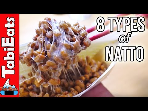 EPIC NATTO TASTE TEST (Unique Japanese Food)