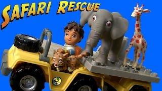 Megabloks Diego's African Safari Playset From Nickelodeon Go, Diego Go! Building Blocks