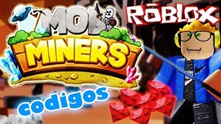 CODES FOR MOB MINERS 🌟 ROBLOX ENGLISH